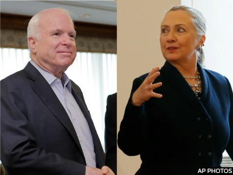 Al-Jazeera America Opens with Endorsements from McCain, Hillary