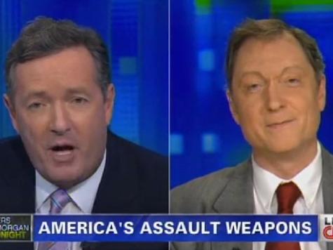 Piers Morgan Decries AR-15, FBI Says No AR-15 Used at Navy Yard