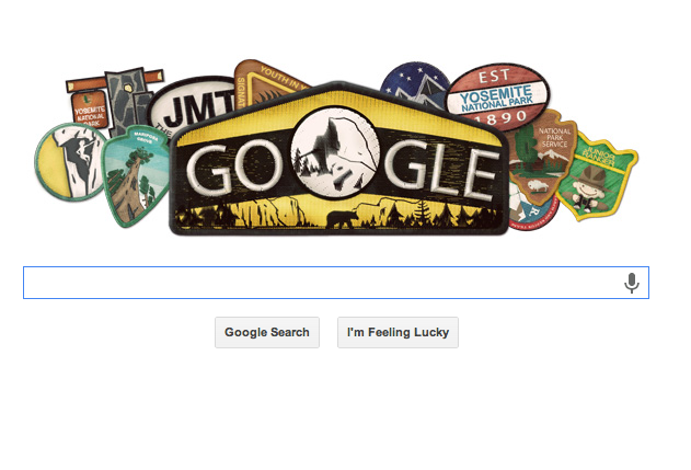 Google Features Yosemite Birthday Graphic as Park Shuts Down