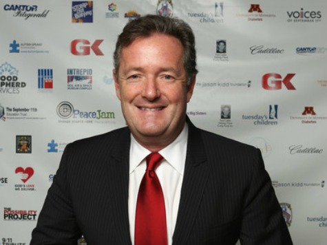 Piers Morgan, Anti-Gun Crusader: 'The Newsroom' Inspired Me