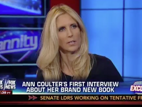 Coulter: Shysters Responsible For GOP Election Losses