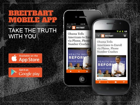 Breitbart News Launches Mobile App