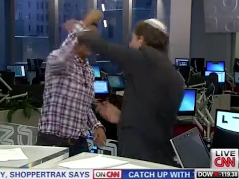 Don Lemon Gets Roughed Up By Rabbi In 'Knockout Game' Demonstration