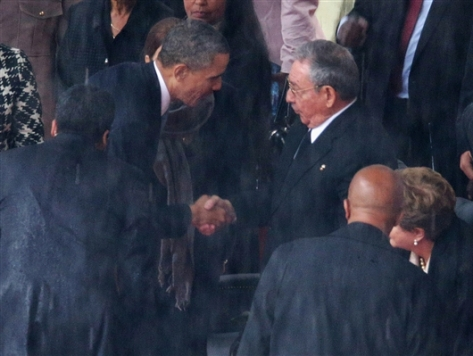 CNN: Obama-Castro Handshake Should 'Not Be Misunderstood'