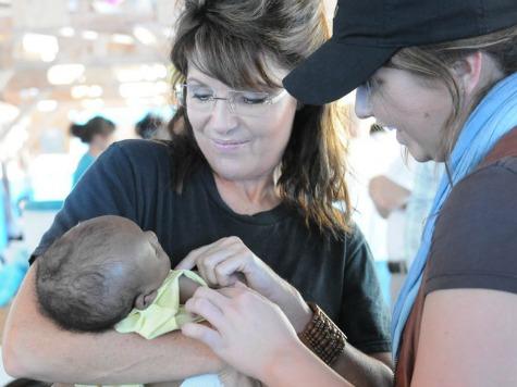 Palin: MSNBC's Mockery of Romney's Black Grandchild 'Unbelievable'