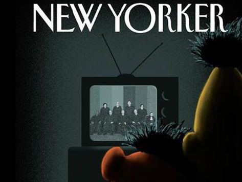 'New Yorker' Portrays a Gay Bert & Ernie to Celebrate End of DOMA