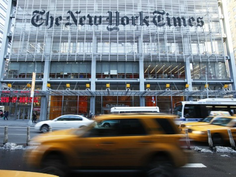 New York Times Ad Revenue Takes a Dive