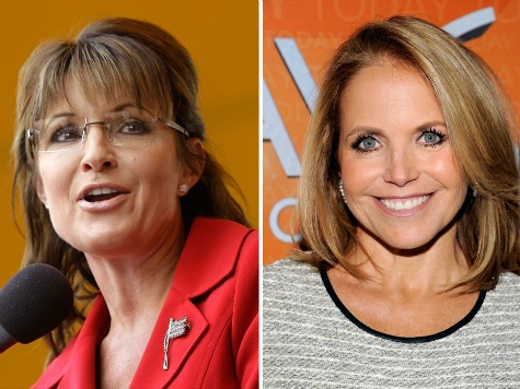 Palin: 'Not Surprising' Katie Couric's Show Got Canceled