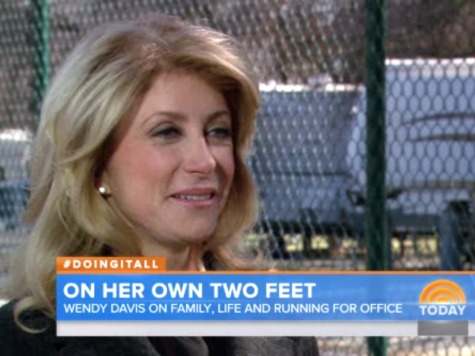 NBC's 'Today' Touted Wendy Davis's Fake Bio Days Before It Was Debunked