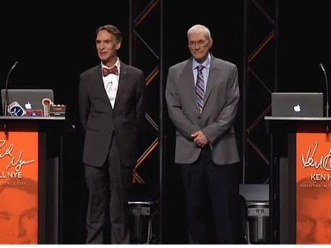Bill Nye, Ken Ham Media Event Was No Debate on 'Creation as a Model of Origins'