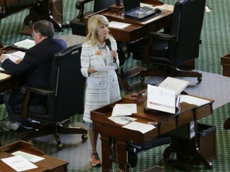NYT Runs Profile of 'Progressive' Wendy Davis on Day She Supports Abortion Ban