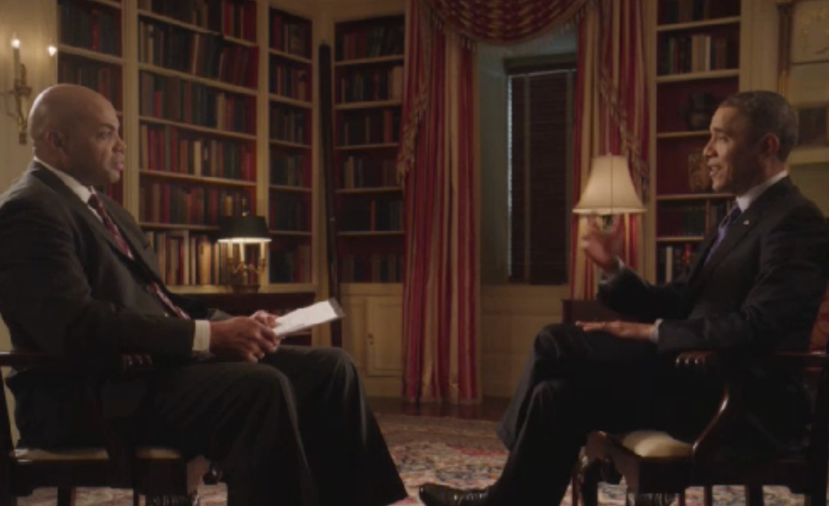 Charles Barkley's Content-Free Obama Interview