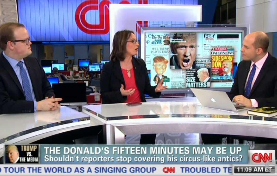 Beltway Media, Sneering at Trump, Are a Parody of Themselves