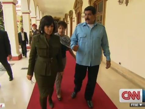 CNN's Amanpour Lobs Softball Questions to Venezuela's Nicolás Maduro