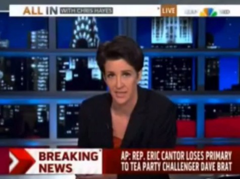 Video Montage: Stunned Cable News Hosts React to Eric Cantor's Primary Defeat