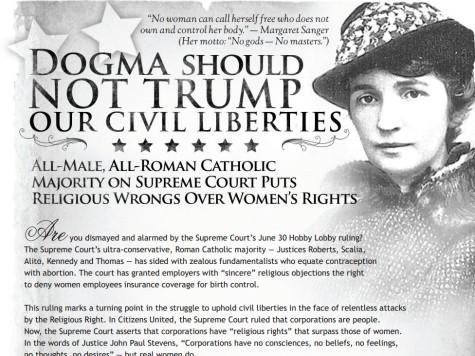 New York Times Allows Anti-Catholic Hobby Lobby Ad