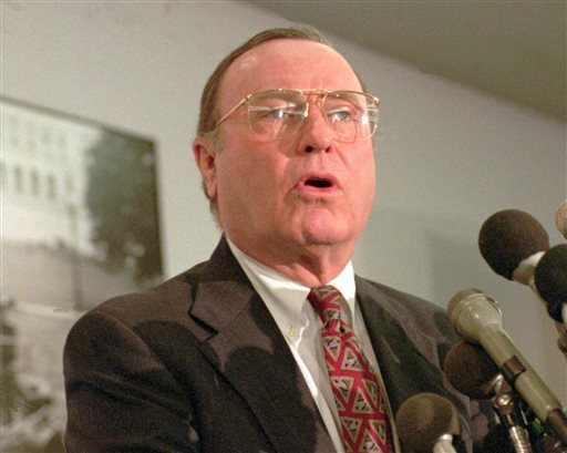 Son: Former US Sen Dixon of Illinois dies at home
