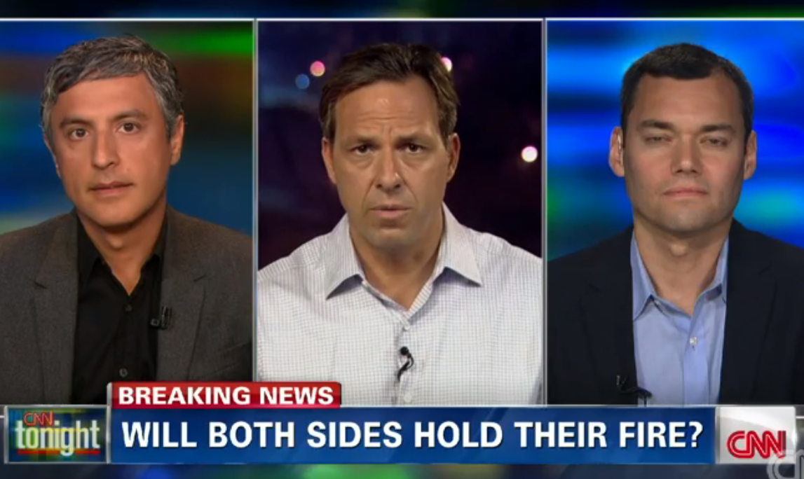 CNN Has Two Israel Critics Debate Israel