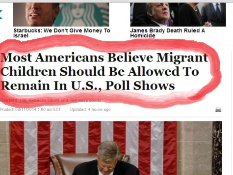 Huffington Post Lies About Border Poll Results