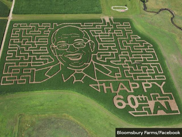 Iowa Farm Creates Corn Maze of Al Roker's Face