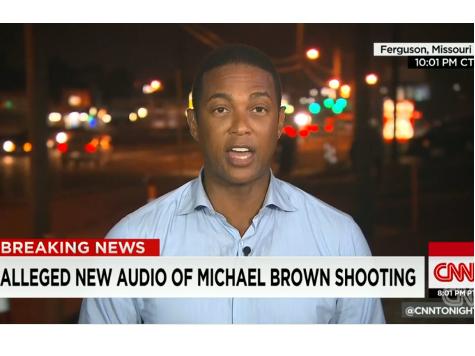 CNN Buries Ferguson Shooting Audio