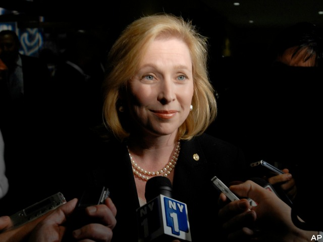 MSM Ignore Ted Kennedy's Groping, Labor Leader Who Told Gillibrand to Lose Weight