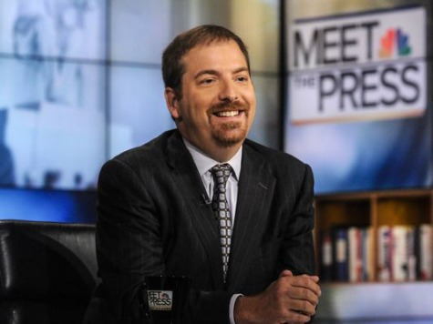 Ratings: 'Meet the Press' Falls Back to Third but Still Improves