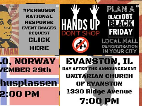 'Hands Up Don't SHOP' Black Friday Ferguson Protests Announced