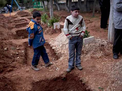 For Syrian People, No Savior From Assad's Slaughter