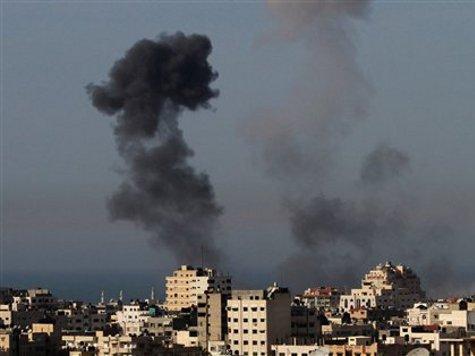 Israel Shells Gaza After Palestinian Air Strikes