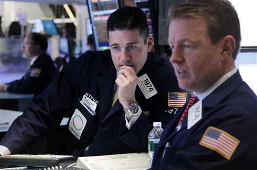 Stocks lower on worries over China slowdown