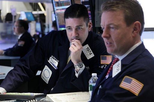 Stocks lower on worries over China slowdown