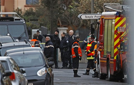 French Police: Shooting Suspect Dead