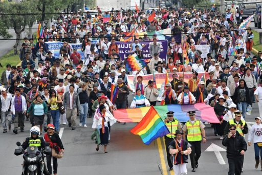 Protesters Shut Down Ecuador Capital to Save Rain Forest