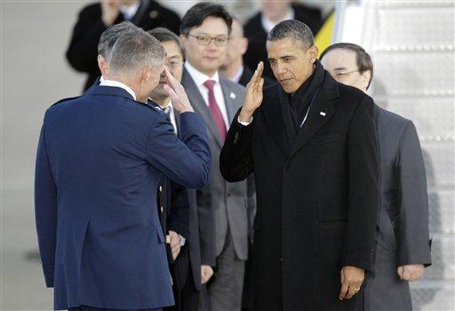 Obama Visits Korean DMZ, Talks Nukes