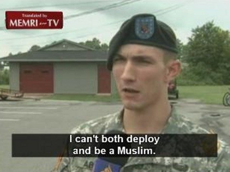 Military Excuses Muslim Soldiers' Uniformed Political Speech