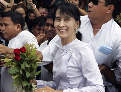 Myanmar President-Elect Suu Kyi Hopes Victory is Dawn of New Era