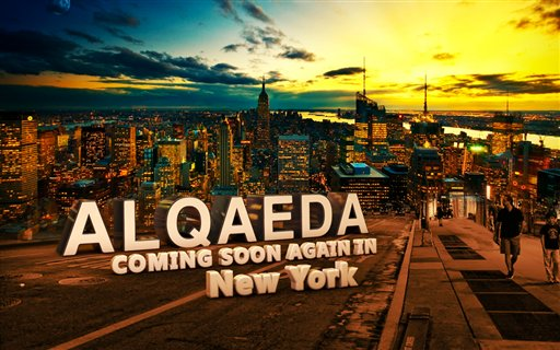 Online graphic warns of al-Qaeda return to NYC