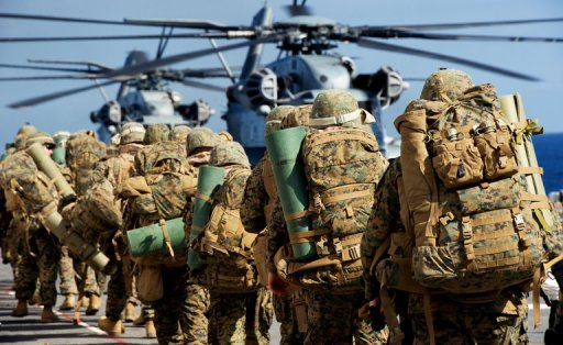 First US Marines deployed to Australia