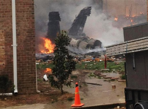 Pilots in fiery Navy jet crash faced 'catastrophic engine system failure right after takeoff'