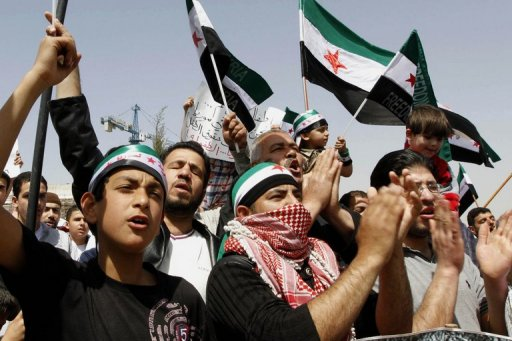 Tens of thousands in anti-regime marches in Syria