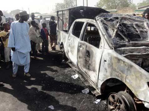 Nigeria bombing near church 'kills 20'