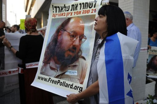 Israel PM urges US to free 'ill' spy Pollard