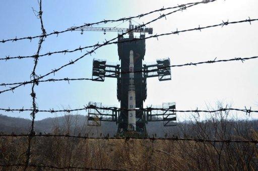 N. Korea set to install satellite on rocket