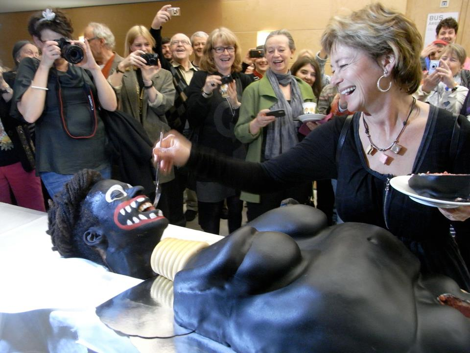 'Anti-Racist' Swedish Politician Performs 'Clitorectomy' on 'African Woman' Cake