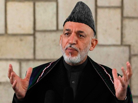 Afghan President Congratulates Obama on Victory