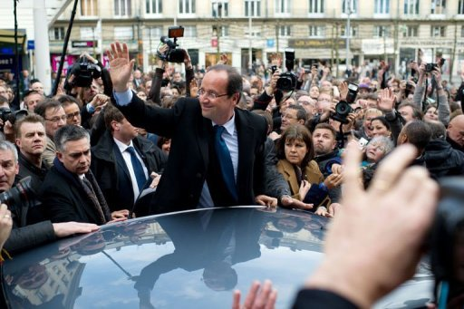 Embattled Sarkozy loses steam ahead of Sunday's vote