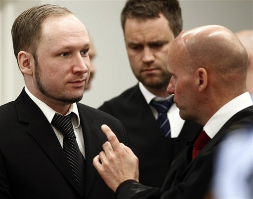 Breivik also wanted to bomb Norwegian royal palace