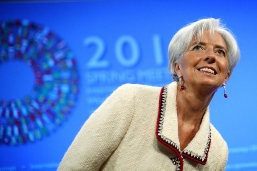 Lagarde assures IMF able to boost crisis funds