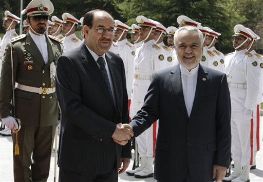 Iraqi Premier Starting Talks in Iran